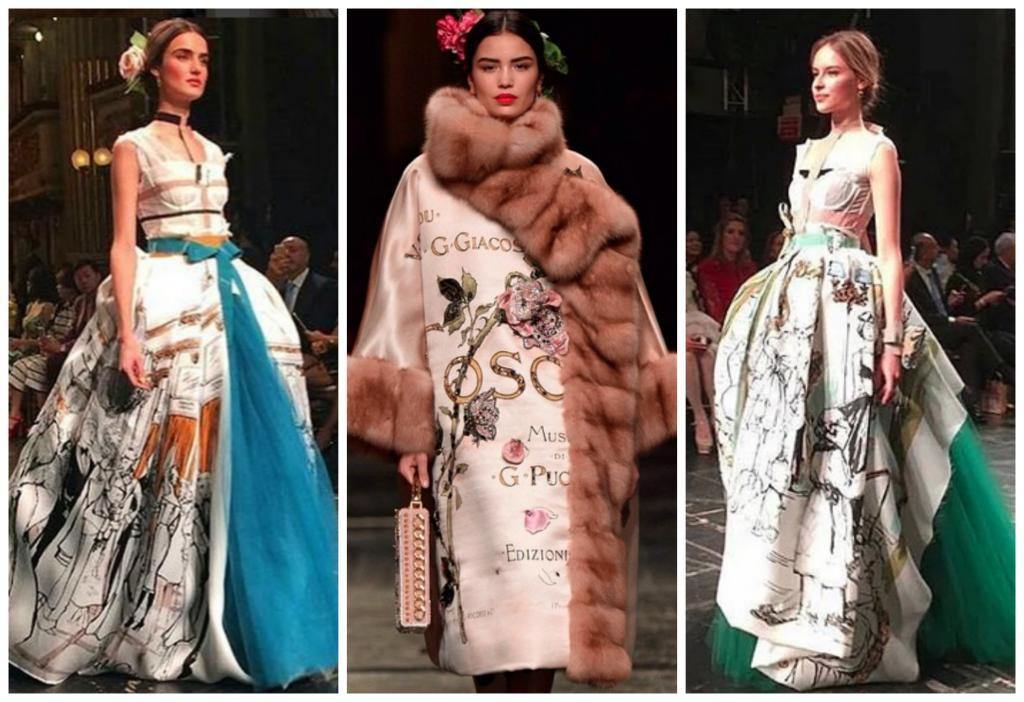 """تفاصيل مُدهشة في عرض """"دولتشي أند غابانا"""" للأزياء الراقية"""