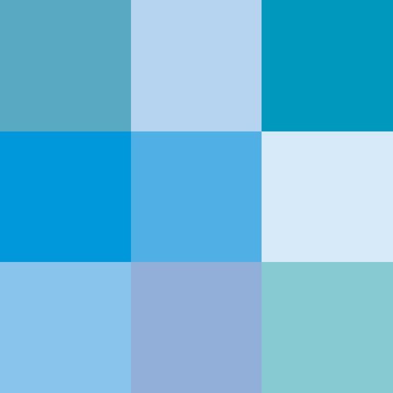 تعرفي إلى تأثير تدرجات اللون الأزرق عليك مجلة سيدتي