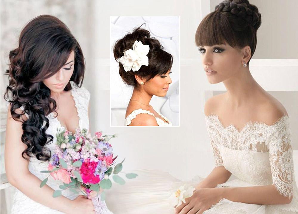 12 تسريحة للعروس مع الغرّة