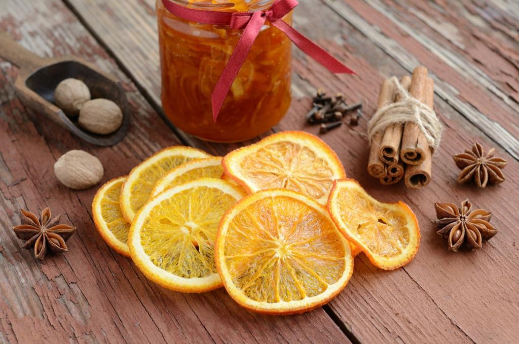 البرتقال في التنظيف والتدبير