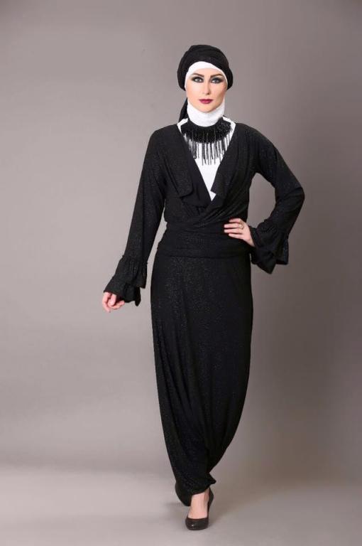 334b44451 ملابس محجبات:مجموعة سواريه من مروة البغدادي لإطلالة راقية | مجلة سيدتي