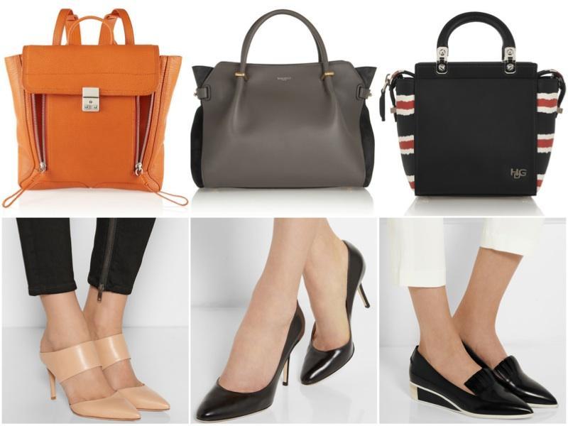 الأحذية والحقائب المثالية للسيدة العاملة