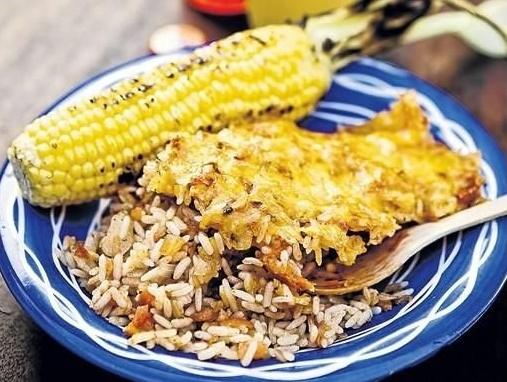 من البرازيل: الأرز الاحمر المطبوخ