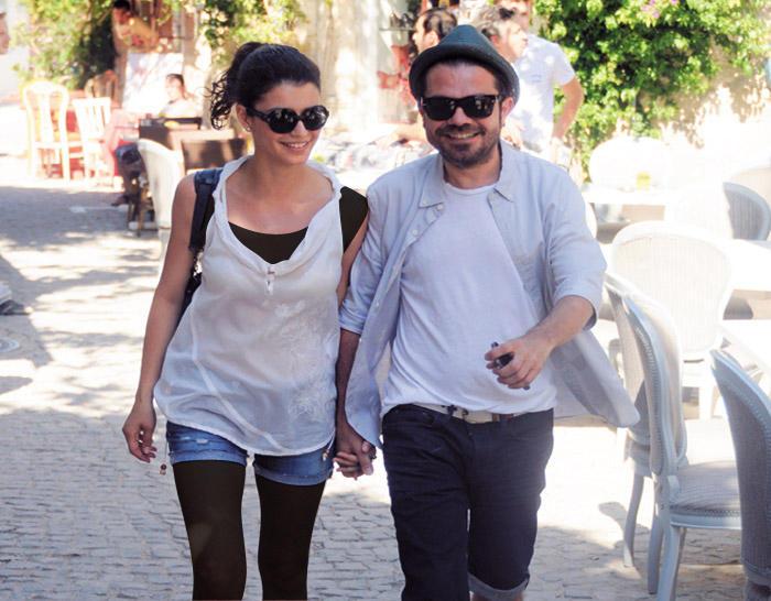 Beren with her husband