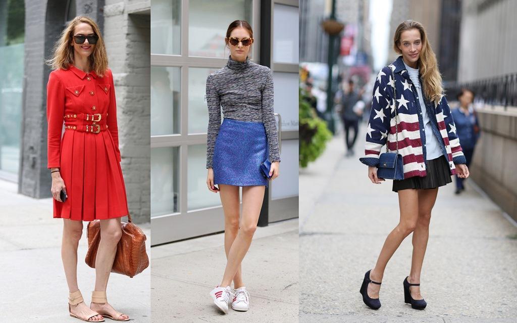 نساء نيويورك يودّعن أسبوع الموضة