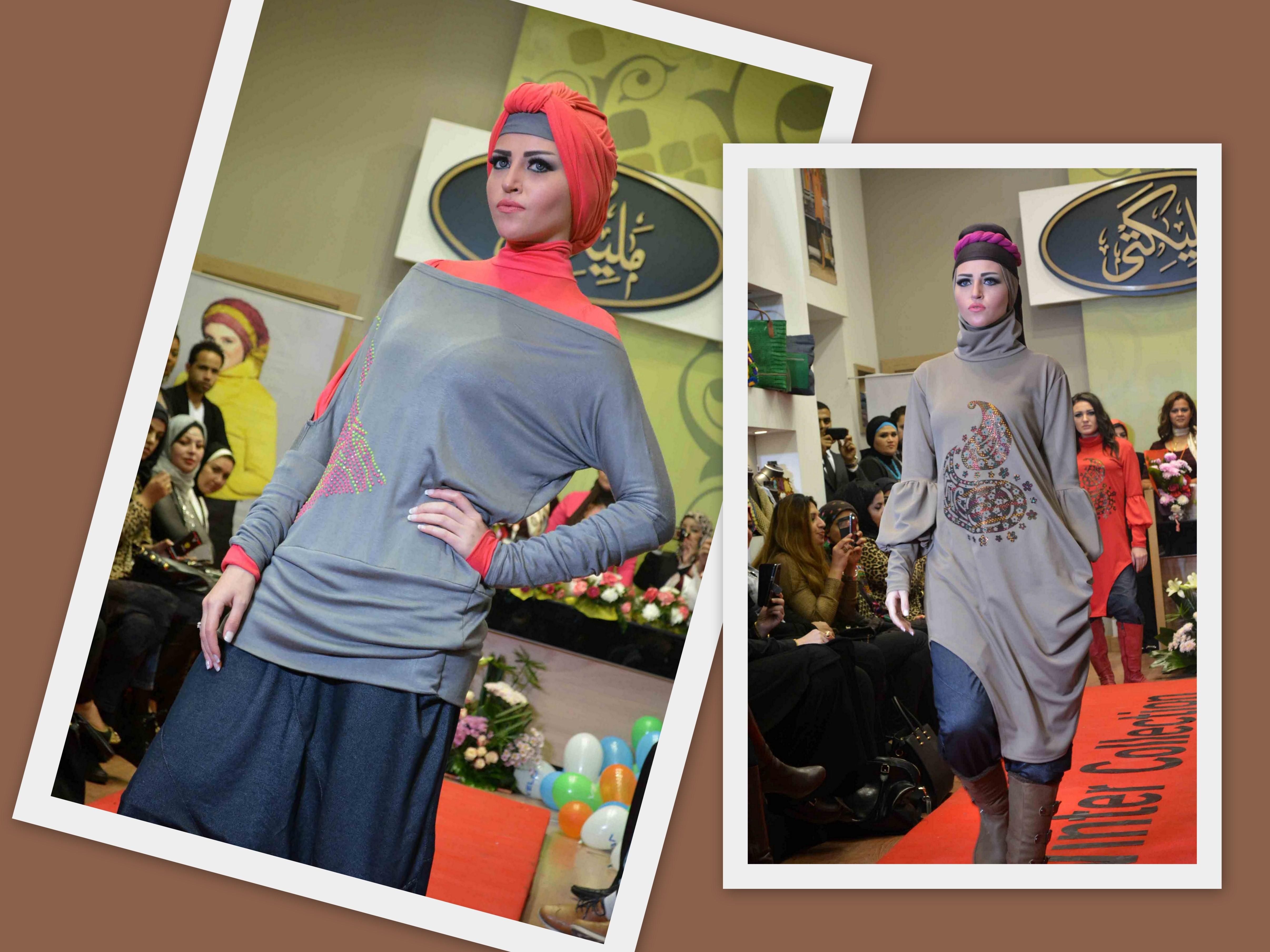 2089cb7b4 الألوان المبهجة عنوان عرض أزياء مليكتي | مجلة سيدتي