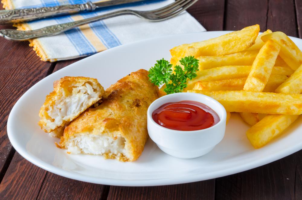 وصفة سمك وبطاطس بالفرن للرجيم