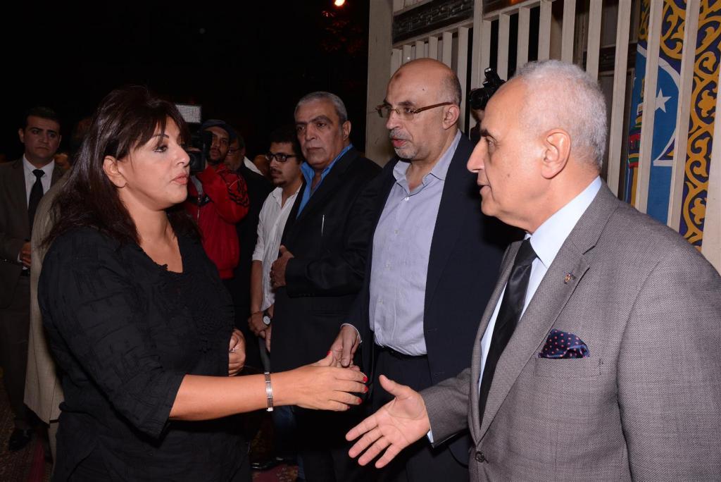 بالصور: الحزن على معالي زايد يخرج سهير البابلي من عزلتها