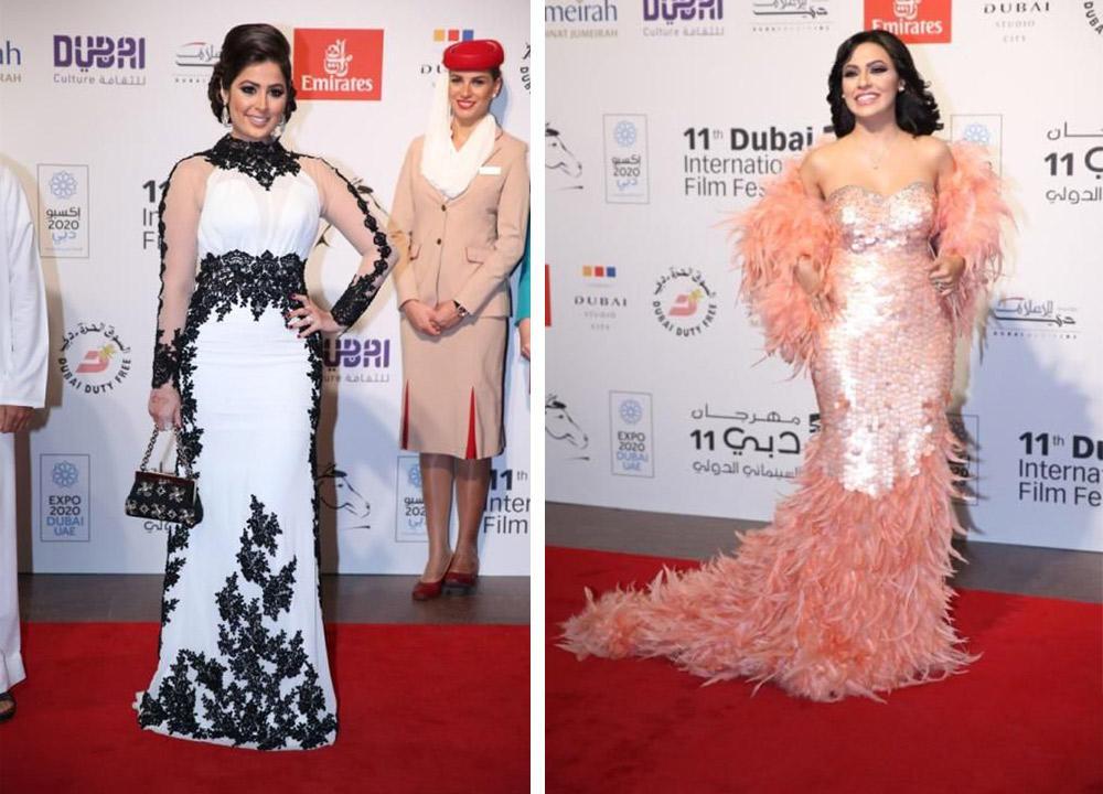 اختاري صاحبة الإطلالة الأسوأ في مهرجان دبي السينمائي