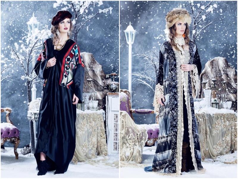 فخامة مميزة في عبايات Queen Of Spades الشتوية