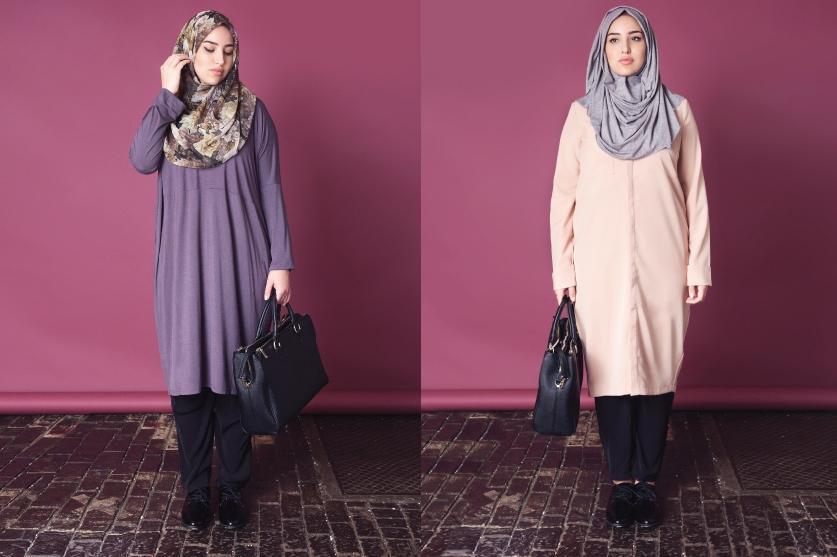 522164450d57a إطلالات عصرية بالحجاب للأجسام الممتلئة