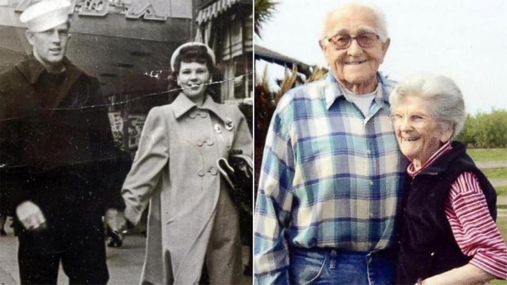 عاشا معاً 67 سنة وتوفيا بفارق 5 ساعات