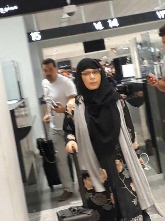 بالفيديو: وصول اصالة مطار القاهرة الدولي بعد إخلاء سبيلها   مجلة سيدتي