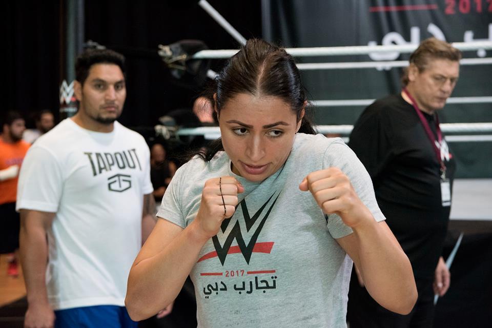0b52a394f الأردنية شادية بسيسو.. أول عربية تقتحم عالم المصارعة الحرة WWE   مجلة سيدتي