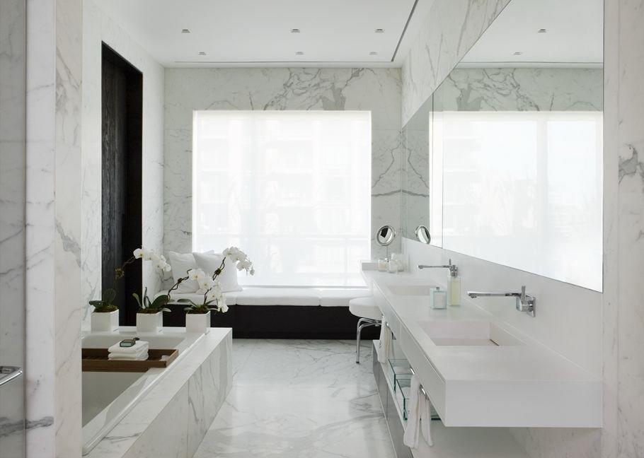 8 نصائح ديكور لاستخدام الرخام في الحمام   مجلة سيدتي