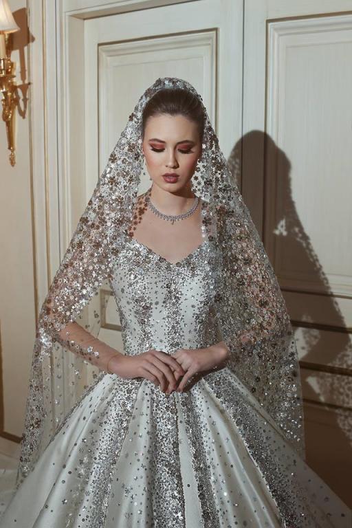 25810bf076e2f فساتين زفاف فخمة لعروس 2018