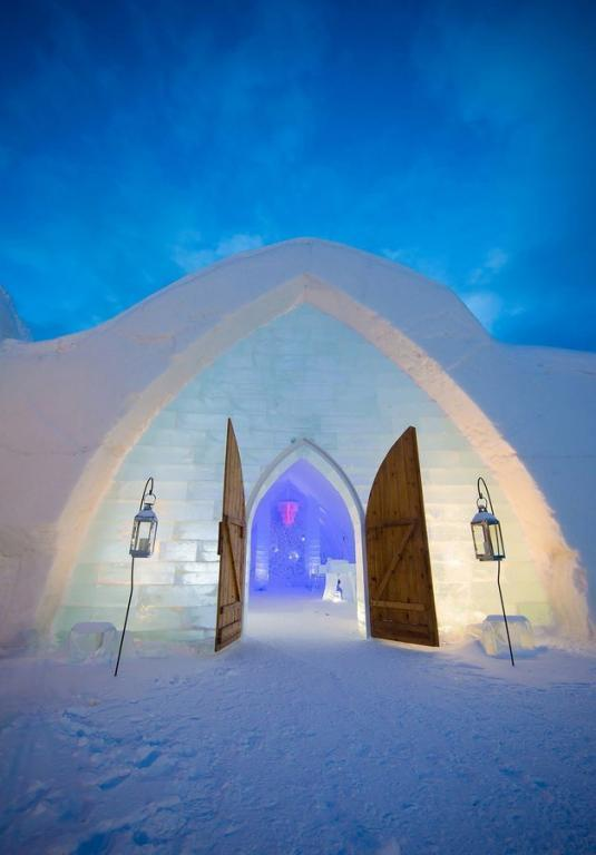 صور مدهشة لـ فندق الثلج  الكندي   مجلة سيدتي