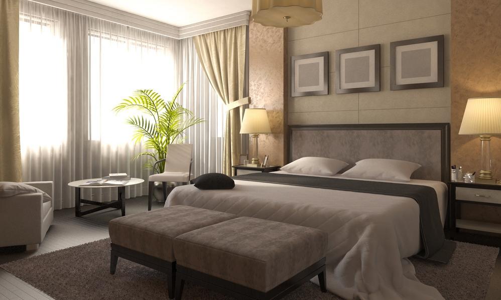 أفكار ديكور تحول غرفة النوم إلى جناح فندقي مجلة سيدتي