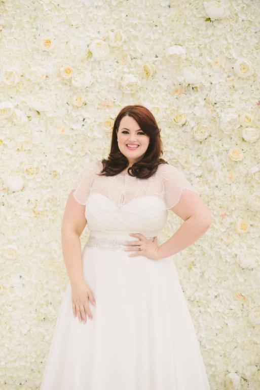 447c980a7c8b9 فساتين زفاف  كيف تختارها العروس صاحبة المقاس الكبير؟