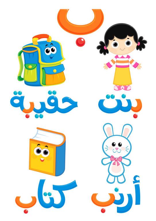 تعليم الاطفال الحروف حرف الباء مجلة سيدتي