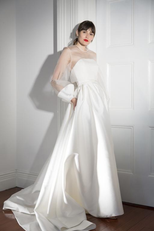f9481c526 صور فساتين زفاف كم من أحدث موديلات 2019 | مجلة سيدتي