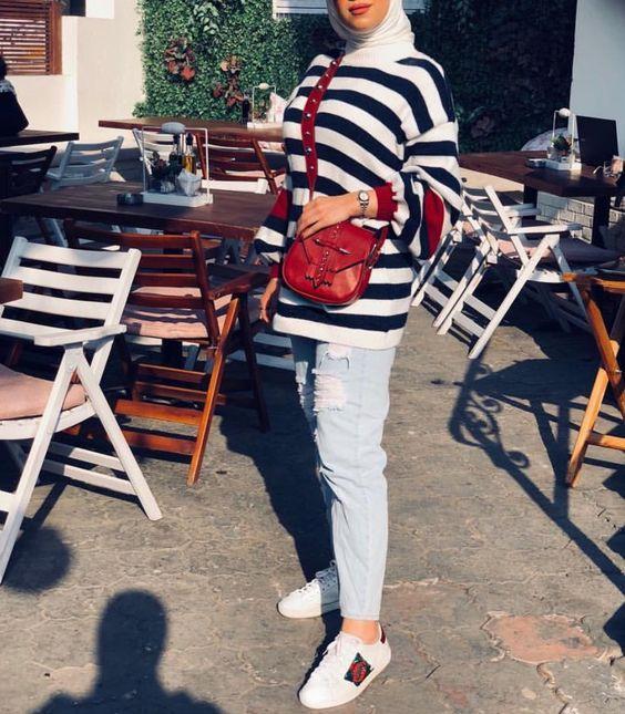a9755ecf1 موديلات ملابس المحجبات لأناقتك في عيد الأضحى | مجلة سيدتي