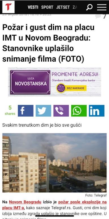 خاص: مشهد من مسلسل  اختراق  يدب الرعب في مدينة بلغراد والصحافة تؤكد وجود قتلى   مجلة سيدتي