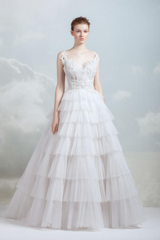 f25462984a068 فساتين زفاف لبنانية ناعمة 2019