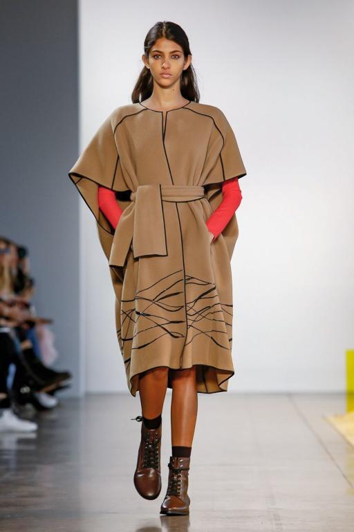 bfebba164 موديلات أزياء تخطف الأنظار من أسبوع نيويورك للموضة | مجلة سيدتي