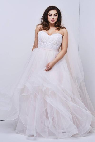 27d3bd53b040a ... مطرزة باللؤلؤ لإطلالة حالمة أجمل فساتين زفاف Princess 2019. بيروت-سيدتي.