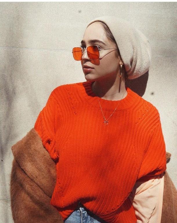 657efe2b8 نظارات جريئة اعتمديها مع حجابكِ من ماريا عليا | مجلة سيدتي