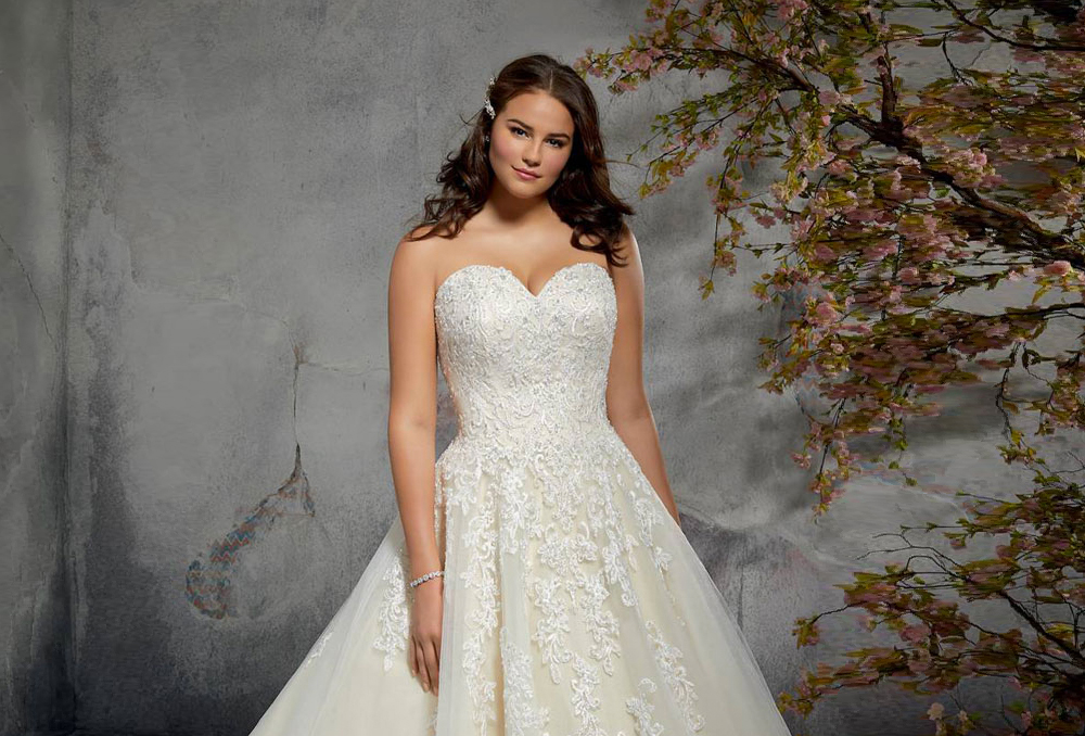 14b0030f1808a تابعي أيضاً  فساتين زفاف بأكمام شفافة لعروس 2019 فساتين زفاف مطرزة باللؤلؤ  لإطلالة حالمة أجمل فساتين زفاف Princess 2019
