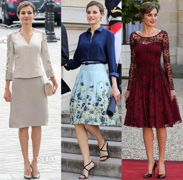 Comment obtenir une tenue de la reine Letizia .