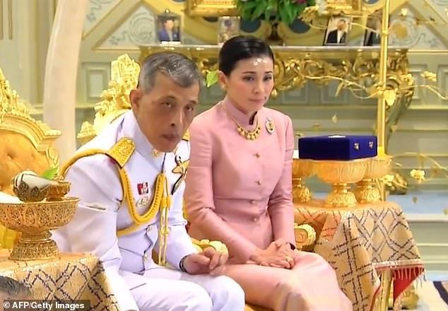 زوجة ملك تايلاند