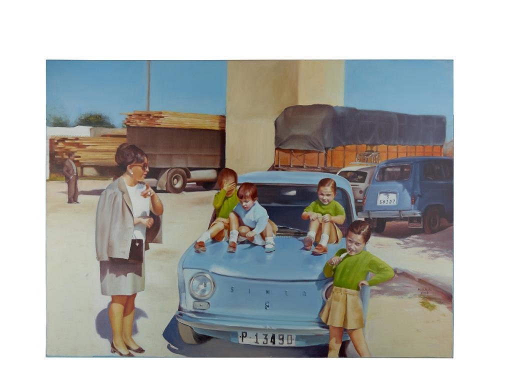 صور عائلية تظهر الروابط المشتركة بين إسبانيا والإمارات
