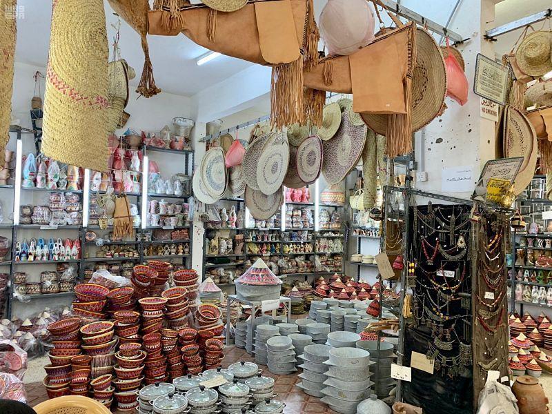 المصنوعات التراثية في أسواق السعودية