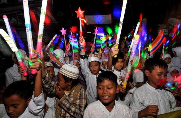 العيد في إندونيسيا