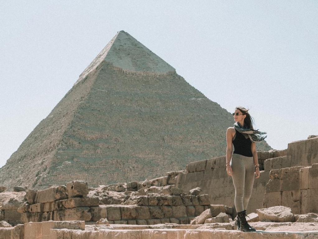 زيارة الأهرامات