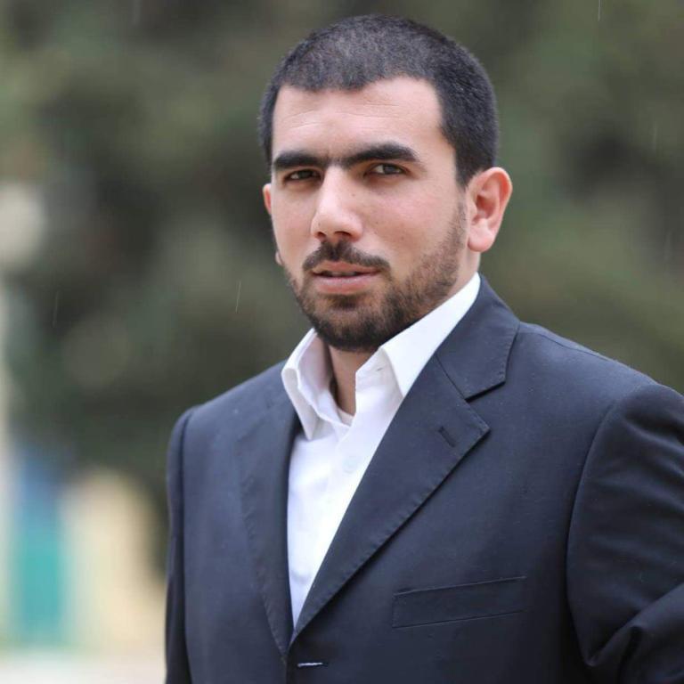 المدون الأردني نور الدين زهير