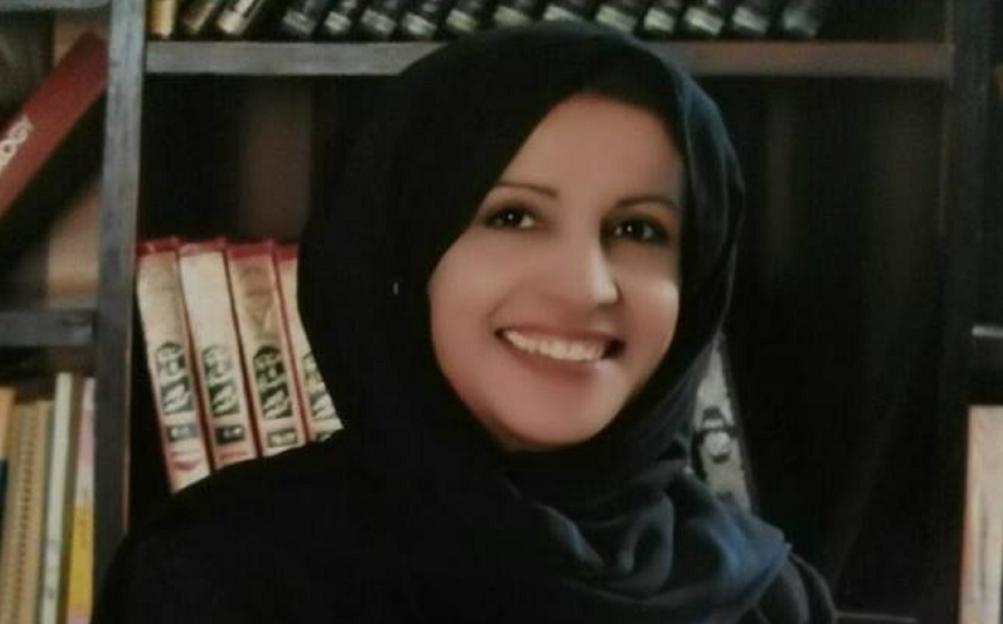 الشاعرة الأردنية مريم الشريف