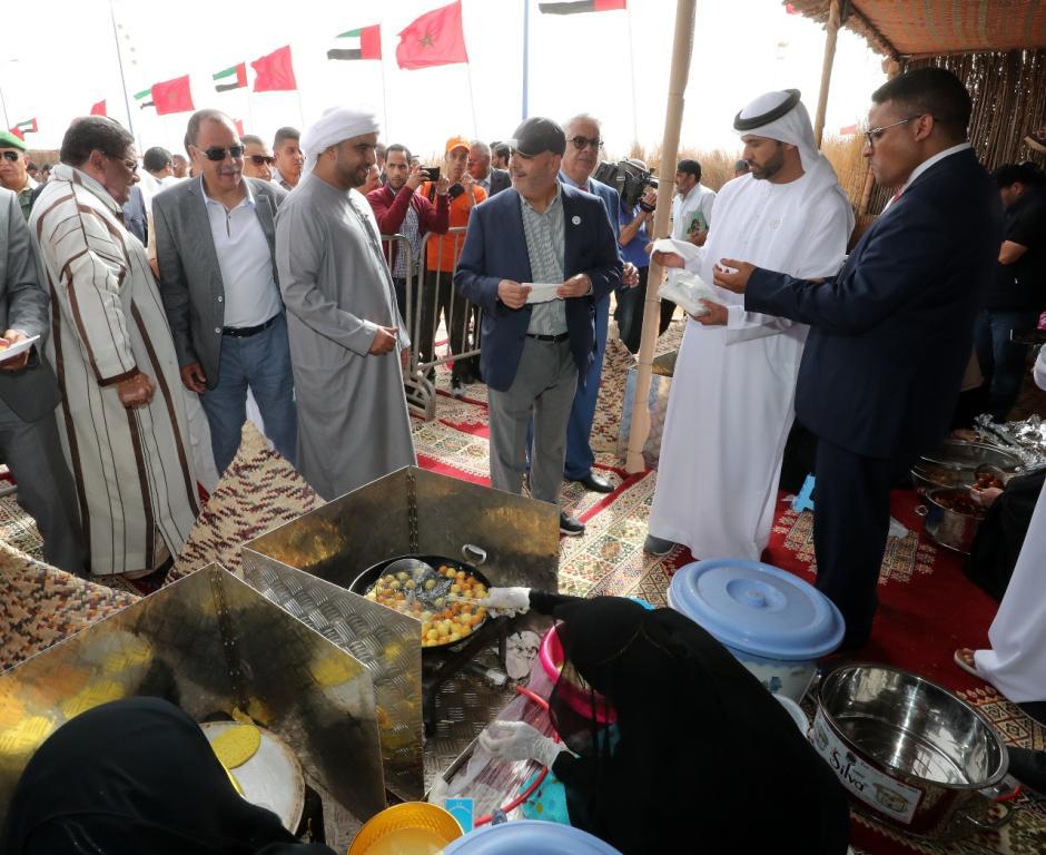 مشاركة الإمارات في موسم طانطان