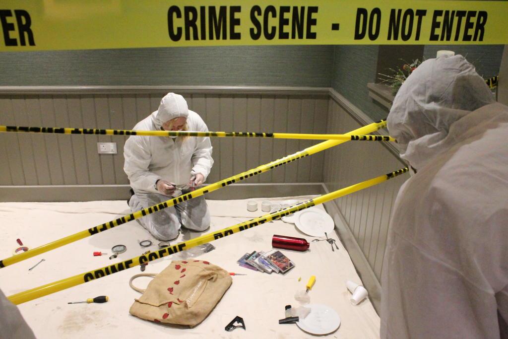 منظف مسرح الجريمة