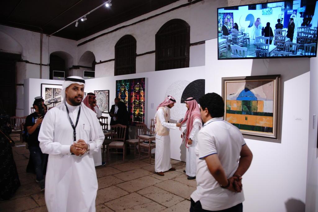 مزاد للوحات الفنية في السعودية