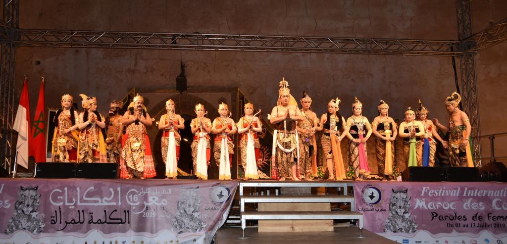 العلاقات الإندونيسية المغربية في المهرجان