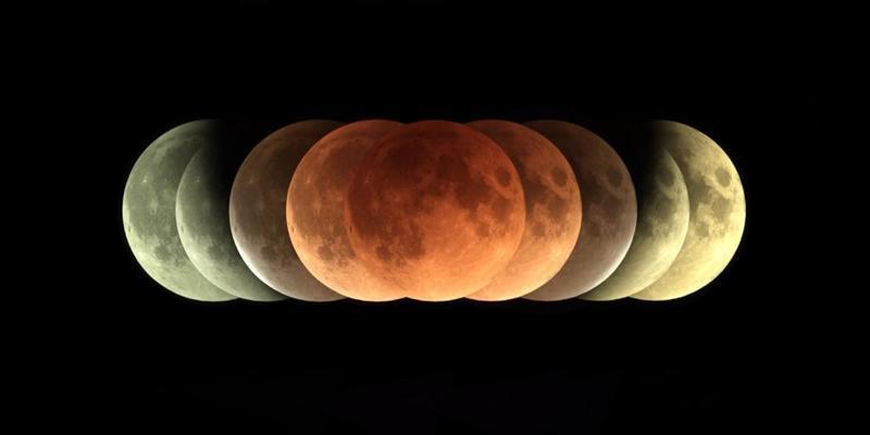 أنواع خسوف القمر