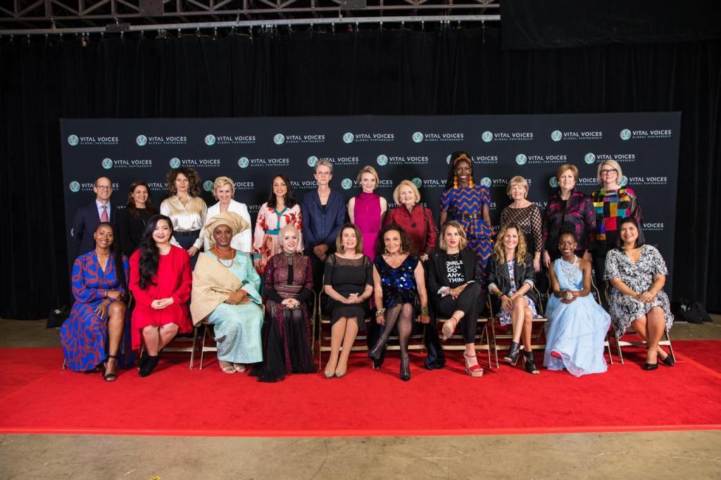 ربى محيسن في أكبر الشبكات الداعمة للنساء في العالم