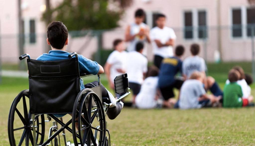 التركيز على الجانب الترفيهي لوي الإعاقة