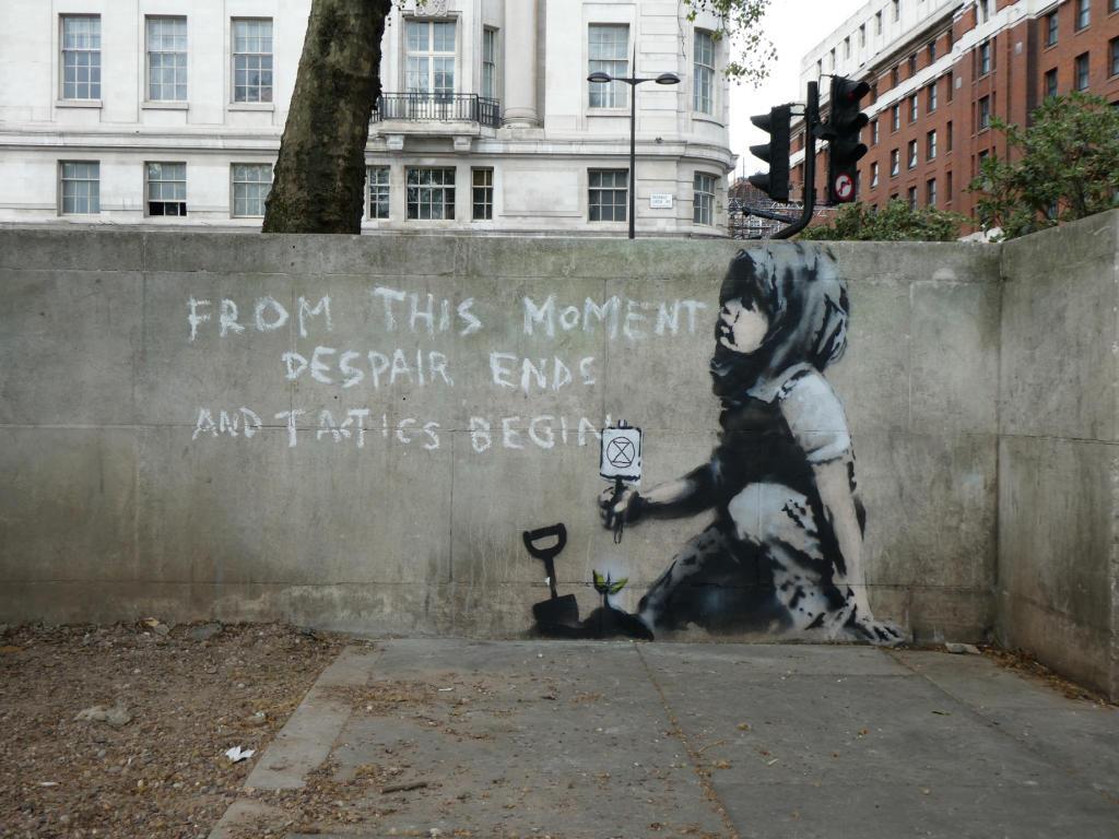 فن الشوارع في لندن