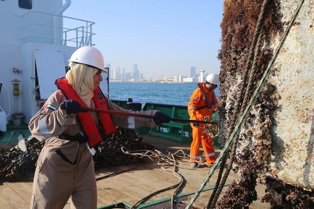يوم المرأة الإماراتية أول قبطانة