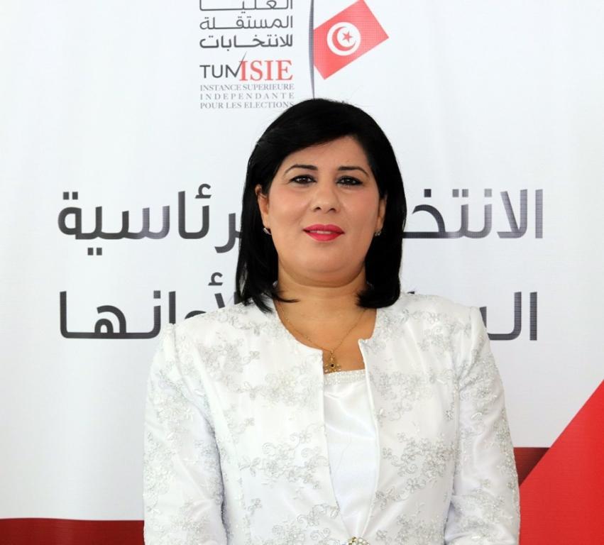 المرشحة للرئاسة التونسية عبير موسى